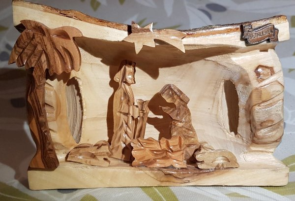 Handcarved Nativity Scene