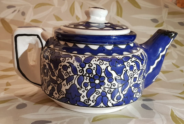 Ceramic Teapot - Large (various patterns available)