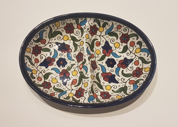 Split Oval Serving Dish (20cm)