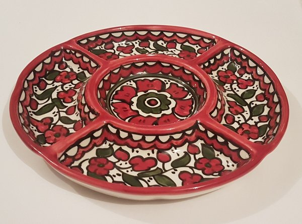 5 Section Serving Dish (23cm)